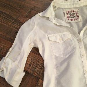 C&V Quarter Sleeve Shirt